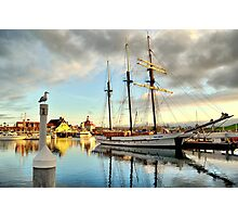 Tole Mour and Rainbow Harbor Photographic Print