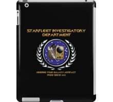 Warehouse 13: TNG Starfleet Investigatory Department iPad Case/Skin