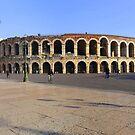 The Arena in Verona by annalisa bianchetti
