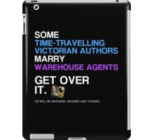 Some Victorians marry Warehouse agents Dark Version. iPad Case/Skin
