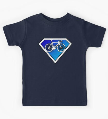 Super Cyclists Only Logo Kids Tee