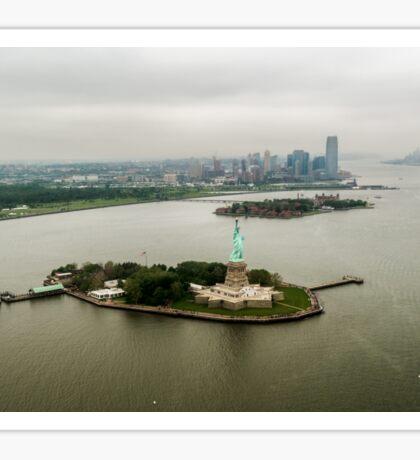 Liberty Island Sticker