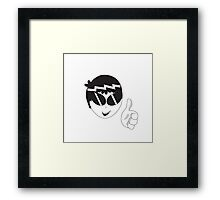 Pleased Ness Framed Print