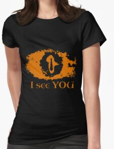 Eye of Sauron - I see you Womens Fitted T-Shirt