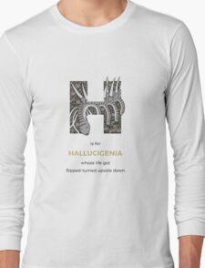 H is for Hallucigenia Long Sleeve T-Shirt