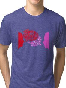 man & woman Tri-blend T-Shirt