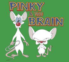 Pinky and the Brain Kids Tee