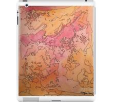 Abstract Ink and Watercolor iPad Case/Skin