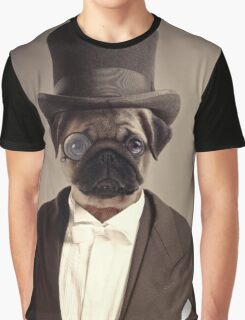 (Very) Distinguished Dog Graphic T-Shirt
