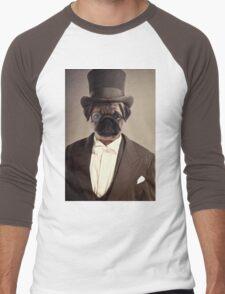 (Very) Distinguished Dog Men's Baseball ¾ T-Shirt