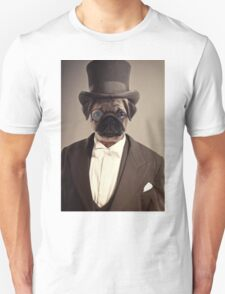 (Very) Distinguished Dog Unisex T-Shirt