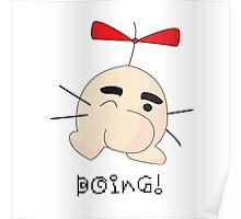 Mr. Saturn- BOING! Poster