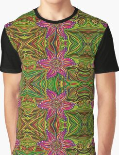 Psychedelic Abstract Colourful work 220 Graphic T-Shirt