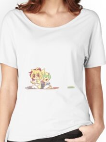 IvKai 1/3 Women's Relaxed Fit T-Shirt