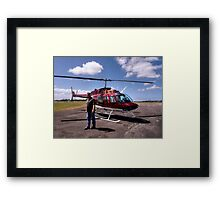 Your transport awaits Sir........!   Framed Print