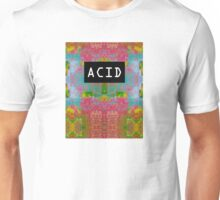 Acid Glitch Print Design Unisex T-Shirt