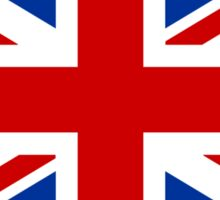 Union Jack (Red, White & Blue)  Sticker