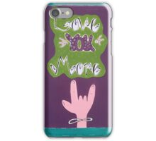 Love you more! iPhone Case/Skin
