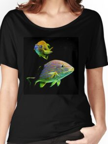 Glow Fish Women's Relaxed Fit T-Shirt