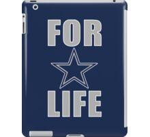 COWBOYS FOR LIFE iPad Case/Skin