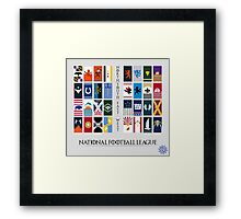 NFL Game of Thrones Banners Framed Print