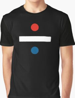 red, white and blue Graphic T-Shirt