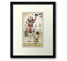 The Major Arcana - The Fool Framed Print