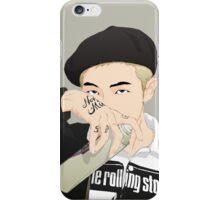 BTS Rap Monster  - Run Concept Photo iPhone Case/Skin