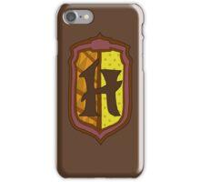 Hufflepuff House Crest 1 iPhone Case/Skin