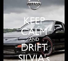 Keep Calm-Nissan Silvia Case by NismoLove14