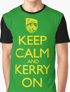 Keep Calm & Kerry On (clean) Graphic T-Shirt