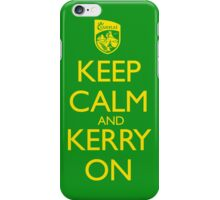 Keep Calm & Kerry On (clean) iPhone Case/Skin