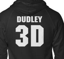 "Dudley Boyz ""Dudley 3D"" Zipped Hoodie"