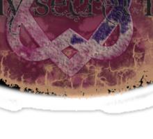 secret life oval Sticker