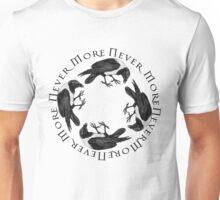 Circle of Raven Birds Unisex T-Shirt