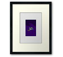 Hockey Shark Framed Print