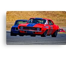 1969 Camaro Z28 Trans Am Racecar Canvas Print