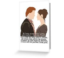 Outlander Greeting Card