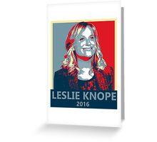 Leslie Knope for President 2016 Greeting Card