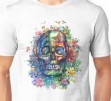 tropical skull Unisex T-Shirt