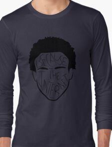 Because The Internet - Black Long Sleeve T-Shirt