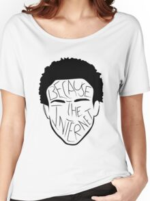 Because The Internet - Black Women's Relaxed Fit T-Shirt