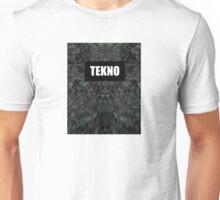 Tekno trippy print design Unisex T-Shirt