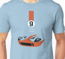 1968 Race Winning #9 Racecar Unisex T-Shirt