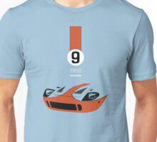 1968 Race Winning #9 Racecar Unisex T-Shirt