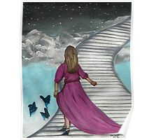 THE STAIRS Faith Art Poster