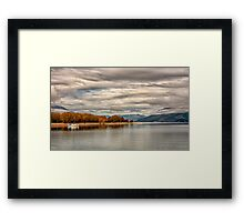 Serenity at Glenorchy, NZ Framed Print