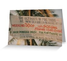 So much on offer! Greeting Card