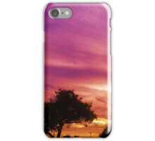 Amazing Sunset over Trees by Jeronimo Rubio Photography 2016 iPhone Case/Skin