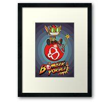 Bomber Yordle Framed Print